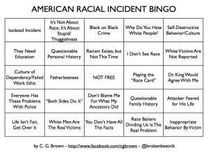 RacialIncidentBingo