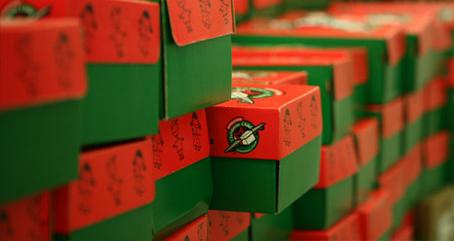 Unpacking Operation Christmas Child – Judy Wu Dominick
